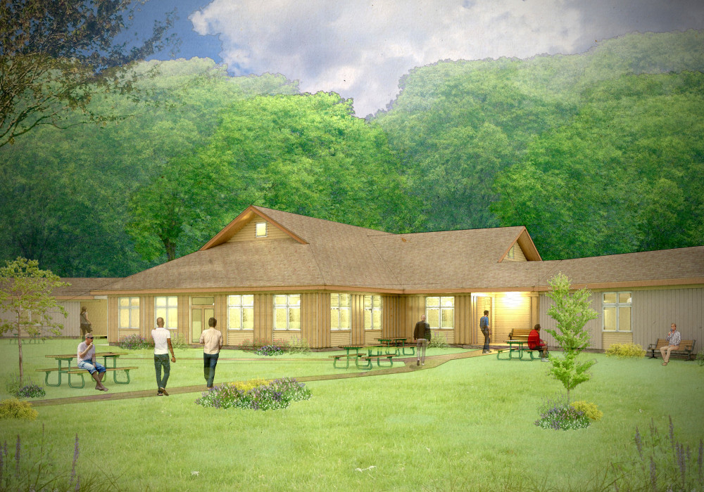 New Dining Hall Concept drawing