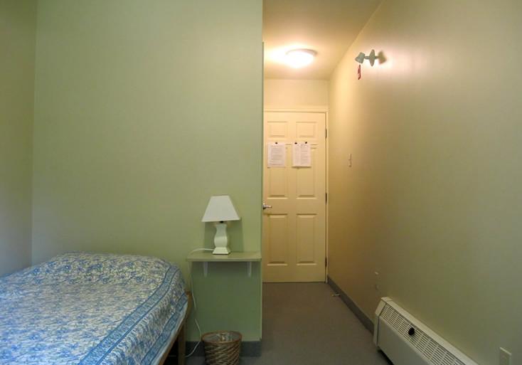Single room in Women's Residence A